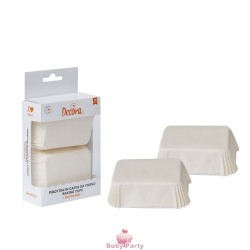 36 Pirottini Plum Cake Bianco Decora