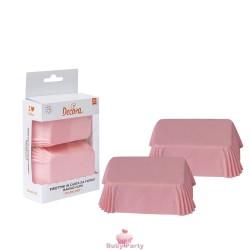 36 Pirottini Plum Cake Rosa Decora