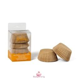 75 Pirottini Kraft Naturale Per Cupcake E Muffin Decora