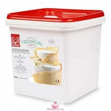 Pasta Di Zucchero Tropical Bianca 5 kg Modecor