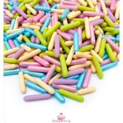 Cannellini Di Zucchero Mix Pastello Sprinkles 90g
