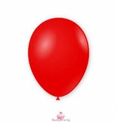 100 Palloncini In Lattice 9 Pollici Colore Rosso