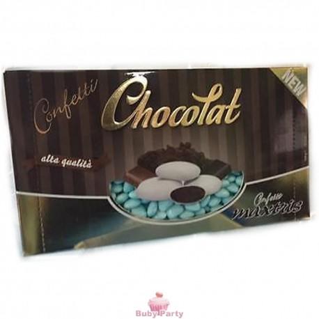Confetti Cuoricini Mignon Colore Celeste 1 kg Maxtris