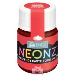 Colorante Alimentare Rosso Effetto Neon 20g Squires Kitchen