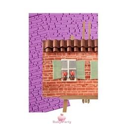 Tappeto In Silicone Effetto Muro Per Pasta Di Zucchero Pavoni